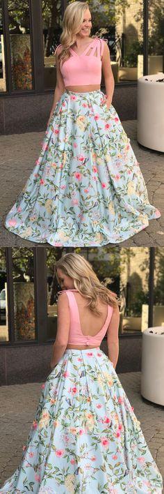 Prom Dresses Long #PromDressesLong, Prom Dress Two Piece #PromDressTwoPiece, Open Back Prom Dress #OpenBackPromDress, Cute Prom Dress #CutePromDress, Long Prom Dress #LongPromDress