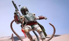New Hot Toys Boba Fett Figure Comes With A Sarlacc Pit
