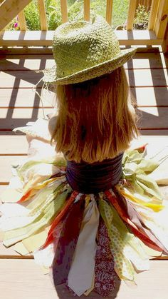 Girls Fabric Tutu Skirt Fall Thanksgiving by MYSWEETCHICKAPEA, $45.00