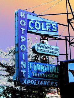 Coles Appliance Sign (False Color)