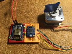 Running a Stepper Motor From an Adafruit HUZZAH ESP8266