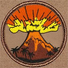 Volcano Patrol Patch (#387)