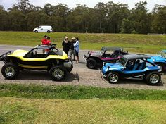 On the way to Frazer Oct 2011  Notice the difference between an offroad buggy and a streeter