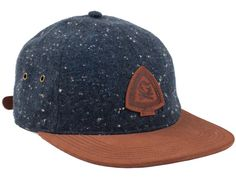 Navy Speckled Campfire Strapback Cap by BENNY GOLD