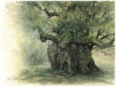 """""""The Faery Tree"""" Greeting Cards & Postcards by JBMonge 
