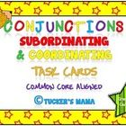 Conjunctions Task Cards Subordinating Conjunctions Grades 24 Multiple Choice Questions on Conjunctions Higher Order Thi. Teaching Grammar, Teaching Resources, Types Of Sentence Structure, 4 Types Of Sentences, Subordinating Conjunctions, Multiple Choice, Task Cards, Language Arts, Lesson Plans