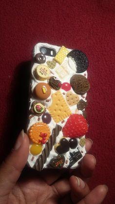 Coque decoden Chocolat iphone 5/5s  Decoden par CotcotShop sur Etsy