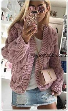 5 Solid Colors New Women Spring Autumn Knit Pocket Cardigan Long Coat Long Sleeve Sweater Causal Loose Sweater Coat Outwear Overcoat Crochet Baby Cardigan, Crochet Jacket, Knit Crochet, Tricot D'art, Knit Fashion, Women's Fashion, Sweater Weather, Knitwear, Knitting Patterns