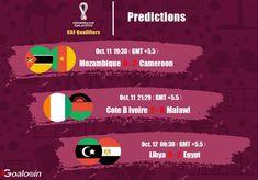 #UEFA #FIFA #WorldCupQatar2022 #WorldCupqualification #football #soccer #soccergame #footballtips #footballgame #sport #prediction #livescore #Mozambique #Cameroon #CoteDIvoire #Malawi #Libya #Egypt