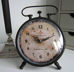 Vintage alarm clock                                                                                                                                                                                 More