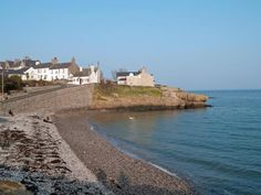Moelfre in early evening sunshine at beginning of March