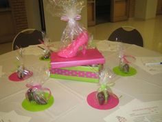 Perfect Pair, Perfect Fit Shoe Theme Bridal Shower Table Decorations
