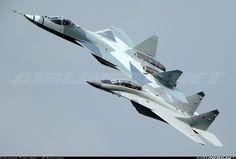 Photos: Sukhoi T-50 Aircraft Pictures | Airliners.net