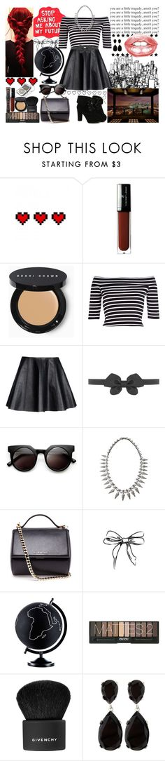 """Sem título #261"" by july-julianny ❤ liked on Polyvore featuring beauty, Retrò, Vincent Longo, Bobbi Brown Cosmetics, River Island, Opening Ceremony, Dorothy Perkins, Givenchy, Talullah Tu and Kenneth Jay Lane"