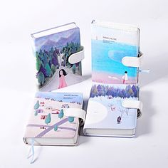 Cheap leather notebook, Buy Quality travelers notebook directly from China notebook blank Suppliers: Cute Kawaii Stationery Leather Notebook Blank colour pages Sketchbook Hand Books Diary Planner Agenda Journal Travelers Notebook