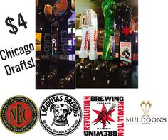 Did you enjoy Muldoon's Irish Pub's $4 Chicago Drafts for you today? #KentsDeals