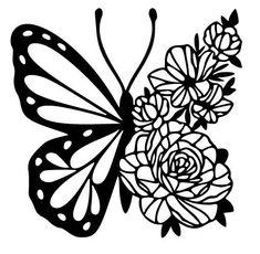 Cricut Craft Room, Cricut Vinyl, Silhouette Cameo Projects, Silhouette Design, Silhouette Files, Butterfly Drawing, Cricut Creations, Cricut Design, Paper Art