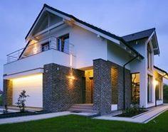 Aranżacje wnętrz - Domy: Z CHARAKTEREM 3 - realizacja projektu - Małe jednopiętrowe domy jednorodzinne z dwuspadowym dachem murowane, styl nowoczesny - DOMY Z WIZJĄ - nowoczesne projekty domów. Przeglądaj, dodawaj i zapisuj najlepsze zdjęcia, pomysły i inspiracje designerskie. W bazie mamy już prawie milion fotografii!