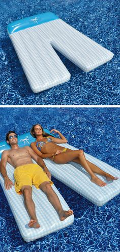 Giant board shorts double pool lounge #product_design