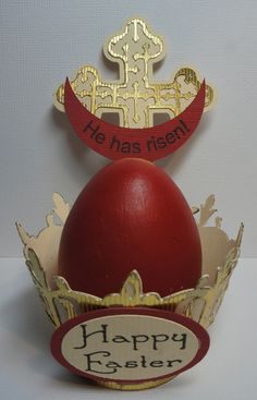 Christ Has Risen!    Red eggs to celebrate Orthodox Easter
