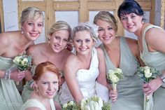 Erna Loock Photography: { Forever } Hanri + Jacques Part One Rustic Romance Wedding Sage Bridesmaid Dresses