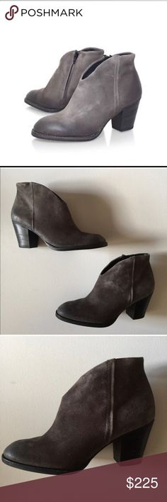 ✨Paul Green Booties, Size 8.5✨ ✨Paul Green, solid grey, size 8.5. Only wore once EUC✨  ⚡️20% off sale through 12/31/2017. I will take 20% off the offer price (as long as it is reasonable to what I am offering)⚡️ Paul Green Shoes Ankle Boots & Booties