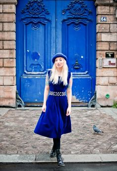 ohhh, blue doors.  how cute are you?