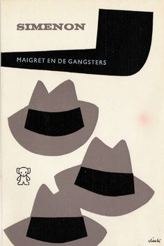 'maigret and the gangsters', georges simenon, illustrated by dick bruna.