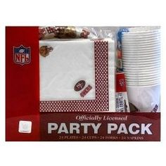 San Francisco 49ers Tailgating Party Pack