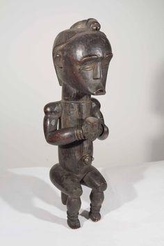 Statue africaine Fang du Gabon 10-212
