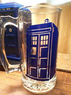 Tardis mug - It is bigger on the inside!