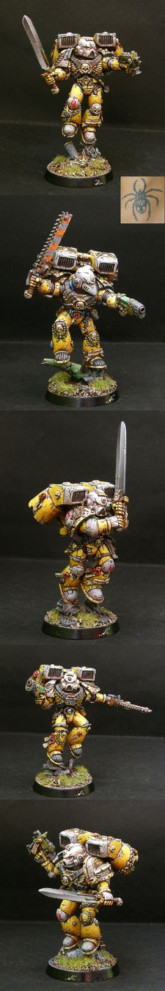 Imperial Fist Assault Squad