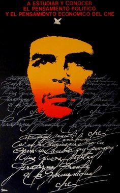 Cuba. Artist: Silvio Che Guevara Quotes, Pablo Emilio Escobar, Hype Wallpaper, Ernesto Che, Kunst Poster, Fidel Castro, Malcolm X, Best Iphone Wallpapers, Cellphone Wallpaper