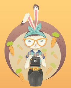 How to Vector a Hipster Bunny in Adobe Illustrator - Tuts+ Design & Illustration Tutorial