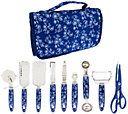 Temp-tations Floral Lace 10pc Gadget Essentials Roll-Up Kit — QVC.com