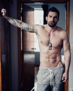 teddypig:   Alexander Abramov    Handsome Men.... - hot guys with tattoos and scruff!