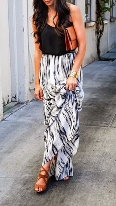 Black and White Maxi.