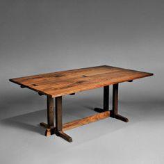 george nakashima furniture | George Nakashima Frenchmen's Cove Dining Table, Walnut, New Hope ...
