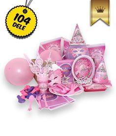 Luksus Prinsesse pakken til 6 pers.