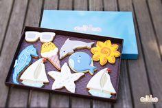 """Pack especial """"Bajo el mar"""" , diseño propio. Cómpralo en este enlace: http://www.galletea.com/galletas-decoradas/"""