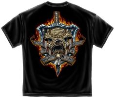 Once a Marine, Always a Marine - American Shield T-shirt |  US Marines Tee Shirt - Short Sleeve