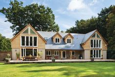 An old bungalow transformed into the perfect oak-clad family home
