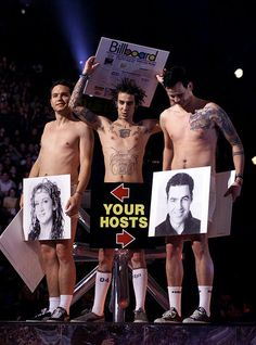 Blink 182: 12/08/1999: Billboard Music Awards Image - Blink-182's Rock Show: Mark Hoppus, Tom DeLonge and Travis Barker's Journey | Rolling Stone