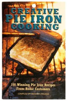 Rome's Creative Pie Iron Cooking Book Pudgie Pies are a MUST HAVE for every camping trip! Who can resist a delicious, hot, gooey sandwich made with love over the campfire? Check out my great recipe ideas and Pie Iron Cooking, Dutch Oven Cooking, Cooking Lamb, Cooking Ribs, Cooking Bacon, Camping Meals, Camping Hacks, Camping Recipes, Camping Cooking