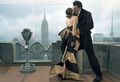 Casual or Dressy: SJP & Chris Noth by Annie Leibovitz for Vogue June '08