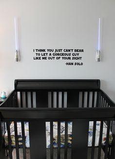 Geeky Nursery for Geeky Babies