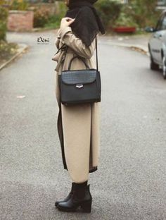 chic coat hijab style, Hijab chic from the street http://www.justtrendygirls.com/hijab-chic-from-the-street/
