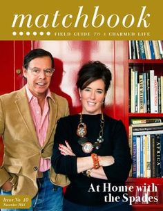 Matchbook  - a great magazine - fashion, decor, food, great articles!