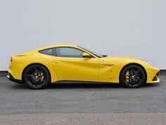 Used 2013 ( reg) Yellow Ferrari F12 Berlinetta 2dr Auto for sale on RAC Cars