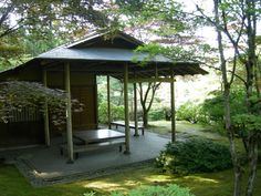 Wabi-Sabi: The Japanese Aesthetic of Impermanence and Simplicity — Seattle Jap. Wabi-Sabi: The Jap Seattle Japanese Garden, Japanese Garden Plants, Japanese Tea House, Japanese Garden Design, Japanese Gardens, Japanese Aesthetic, Japanese Style, Garden Buildings, Tiny Houses For Sale